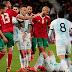 Em jogo de 49 faltas, Argentina desfalcada de Messi vence Marrocos com gol no fim