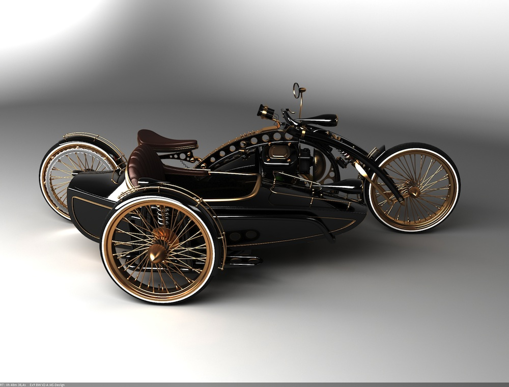 Mighty Lists: 10 cool motorcycle sidecars