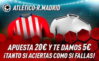 sportium Promo Atletico vs Real Madrid 9 febrero 2019