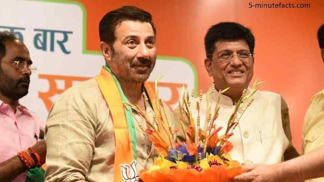 बीजेपी में शामिल हुए सनी देओल, कहा देश को मोदी जी जैसे नेता की जरुरत !