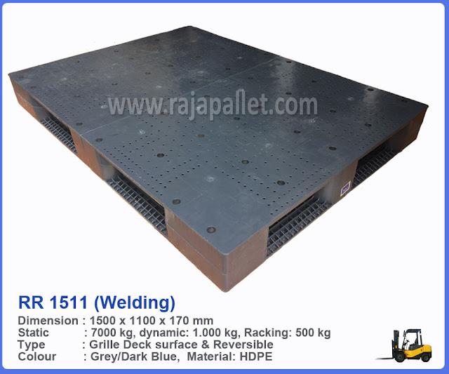 Pallet Plastik RR 1511 (Welding)