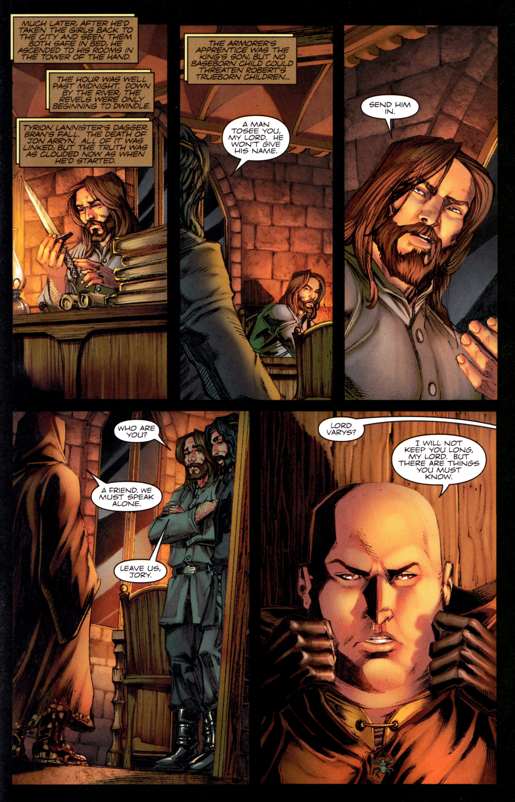 Read online A Game Of Thrones comic -  Issue #9 - 29