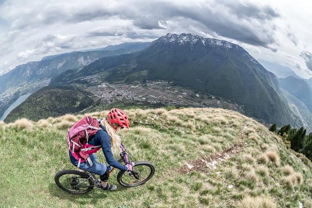 mountainbike guide trento italien monte marzola
