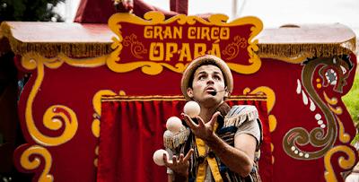 Férias no Sesc: show de samba com Fabiana Cozza e espetáculo Gran Circo Opará no fim de semana