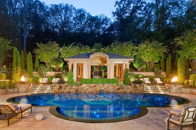 Arte Y Jardineria Videos De Diseno De Jardines - Diseo-de-jardines-con-piscina