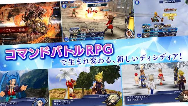 Dissidia Final Fantasy Opera Omnia English MOD Infinite Money v1.1.0 Apk Android Terbaru