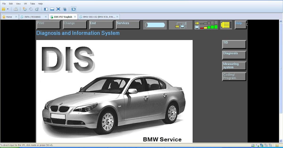 Mekanik Super  Bmw Dis V57  Sss Progman V32  U0026 Tis V8 Bmw Inpa