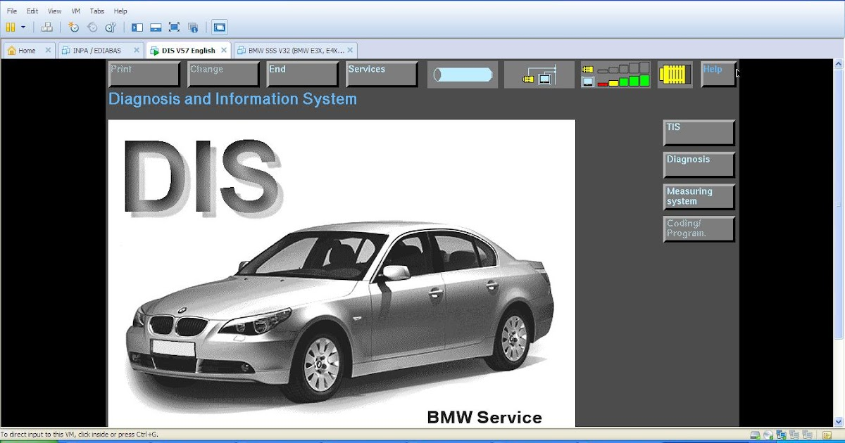 Mekanik Super: BMW DIS V57, SSS PROGMAN V32 & TIS V8 BMW INPA