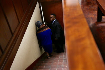 Photos: South African woman who orchestrated the fake abduction of her baby to hide her extramarital affair sentenced to 5 years imprisonment