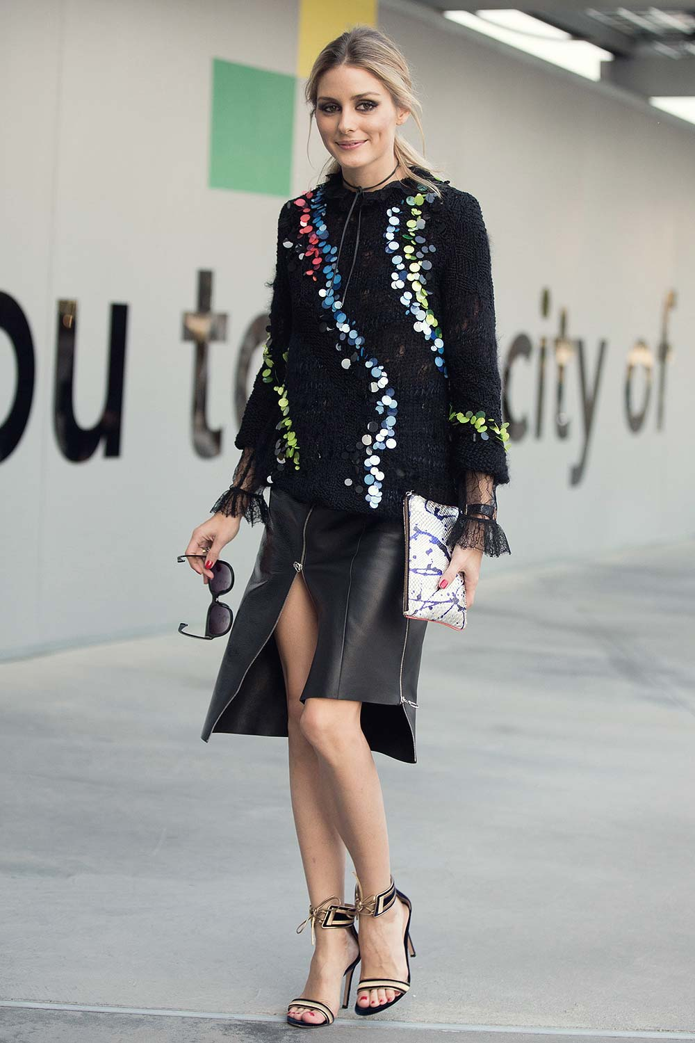 The Olivia Palermo Lookbook Olivia Palermo At Milan Fashion Week V
