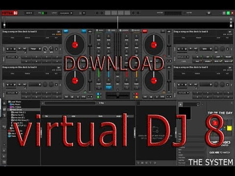 Download,Virtual,DJ,8,full,pro,AND,How,it,Works