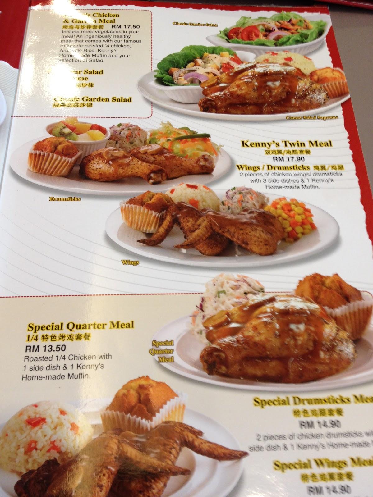 Malaysia Food Price: Kenny Rogers