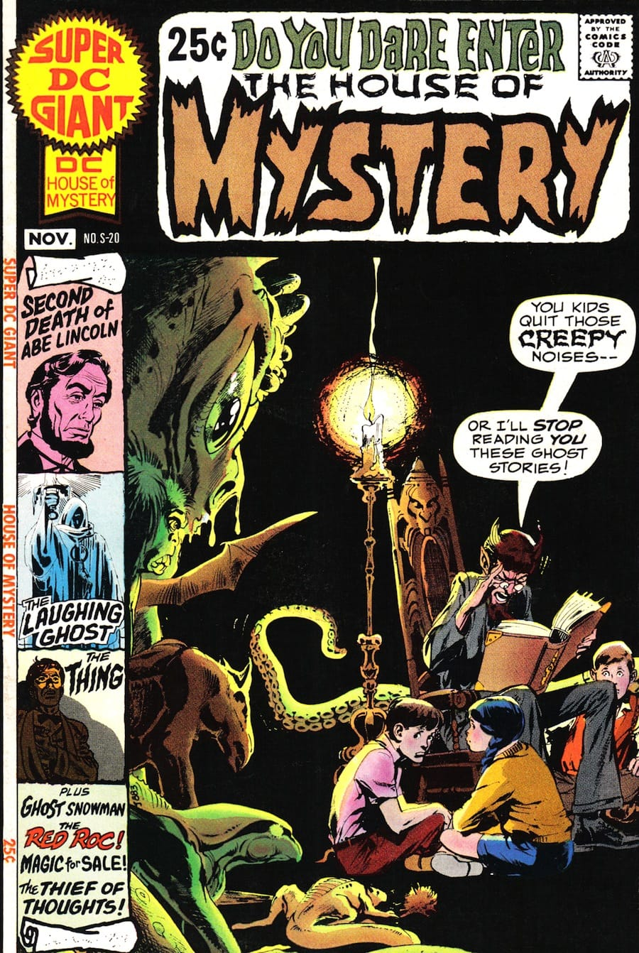 super dc giant s 20 house of mystery neal adams cover jack
