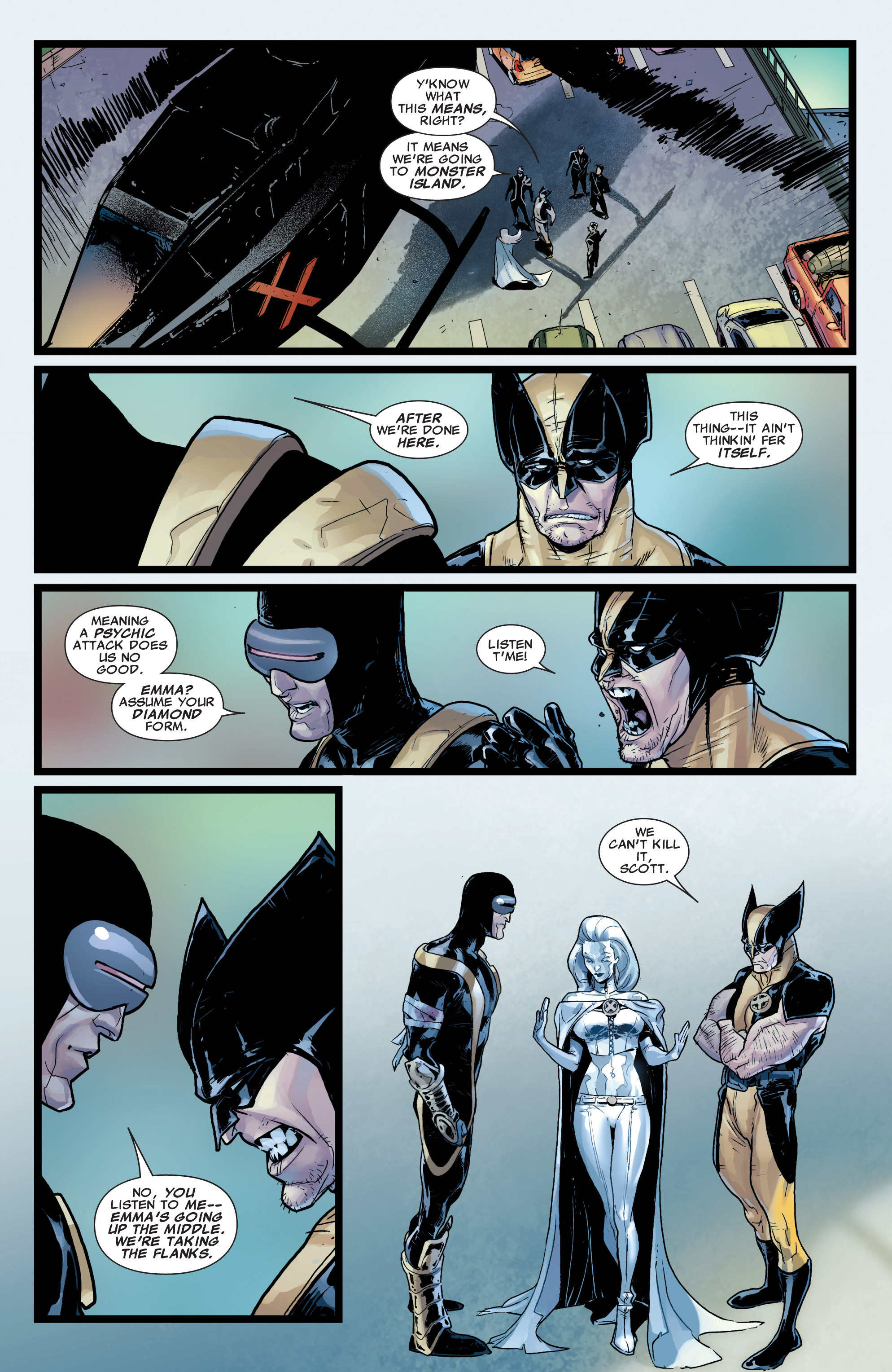 Read online Astonishing X-Men (2004) comic -  Issue #37 - 21