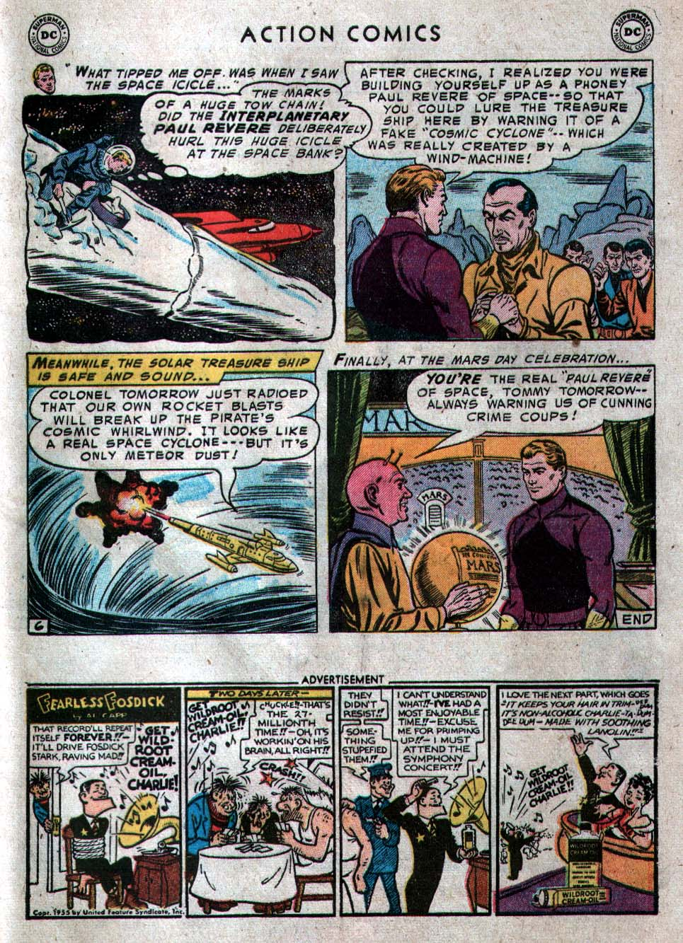 Read online Action Comics (1938) comic -  Issue #212 - 33