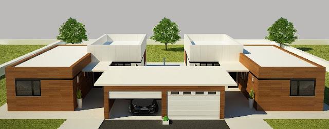 Vivienda modular Resan - Modelo Z3 pareado