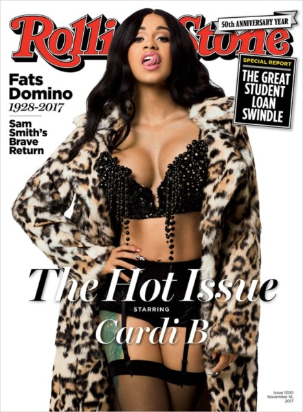 Cardi-B-talks-relationship-&-dropping-out-of-school-as-she-covers-Rolling-Stone-Magazine