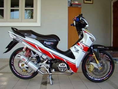 Foto Modifikasi Honda Supra X 125 Terbaru