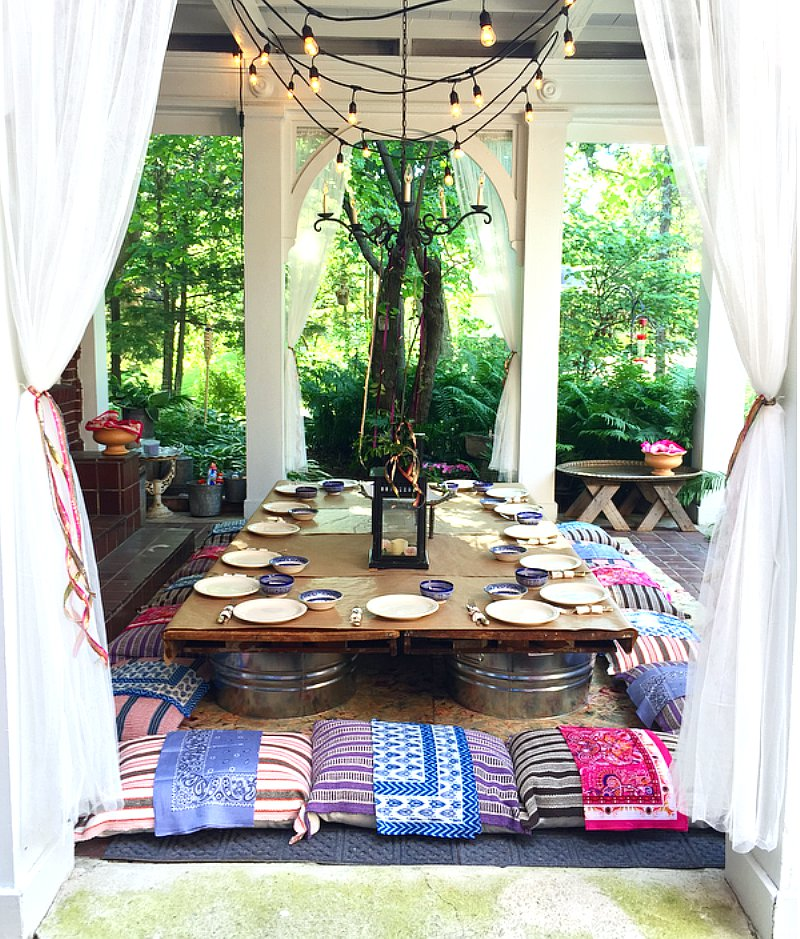 Graduation Moroccan party ideas via BirdsParty.com