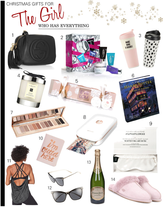 Christmas Gifts For The Girl Who Has Everything