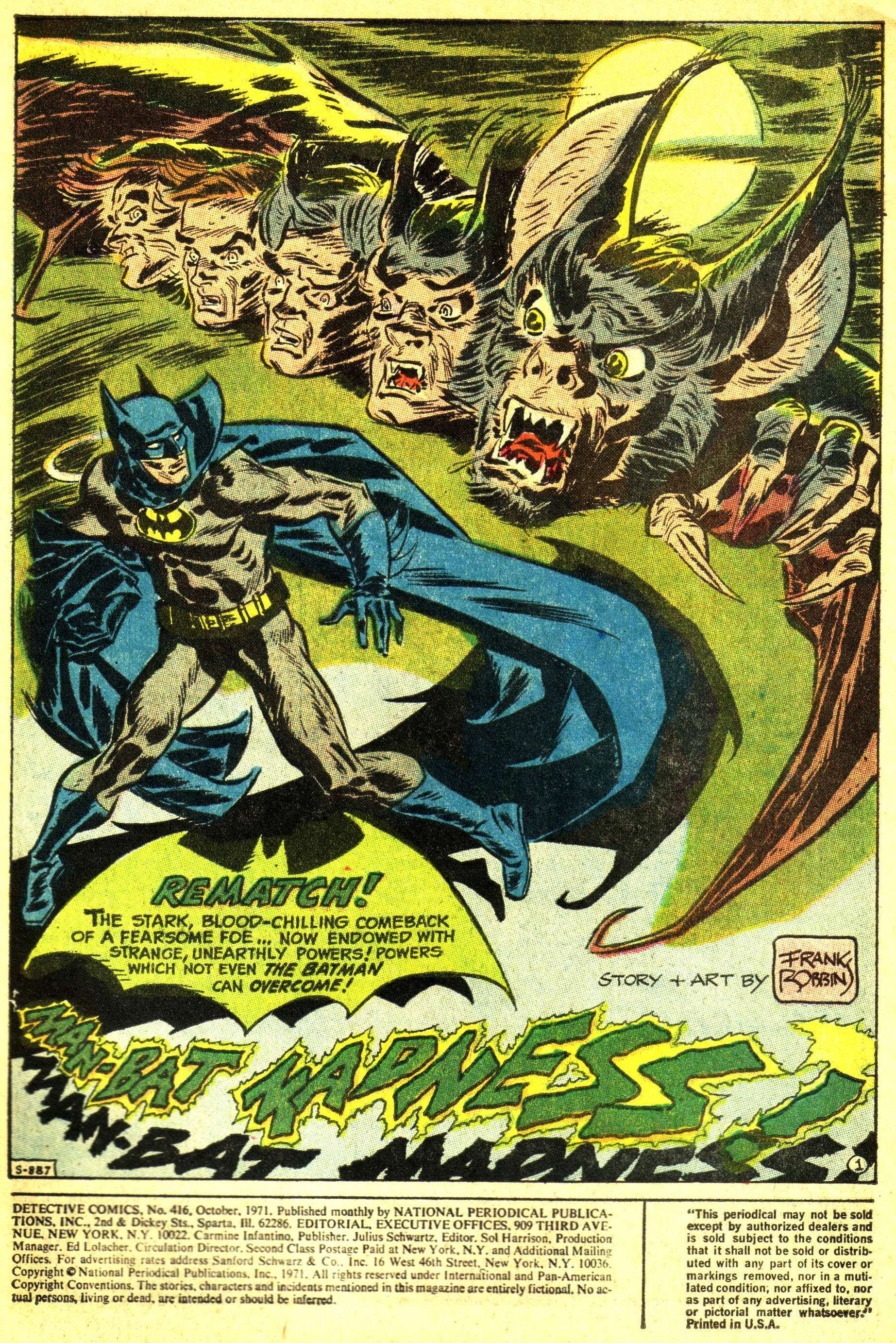 Detective Comics (1937) 416 Page 1