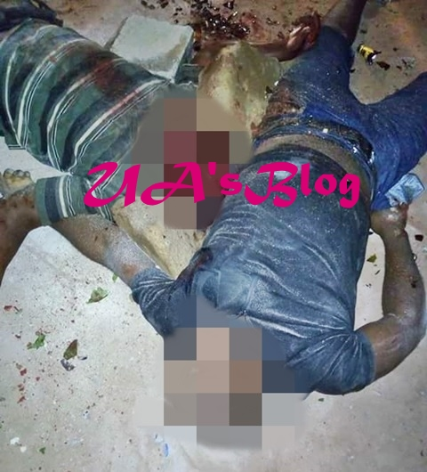 Bloody Day In Imo Community As Angry Mob Hacks Police Sergeant To Death For Killing A Man (Graphic Photos)