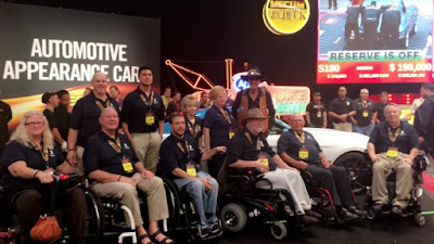 Petty's Garage 2017 Ford Mustang GT Custom Built for the Veterans Service Organization