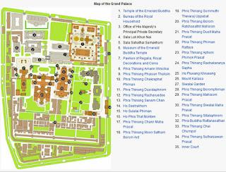 Gran Palacio Real de Bangkok o Phra Borom Maha Ratcha Wang.