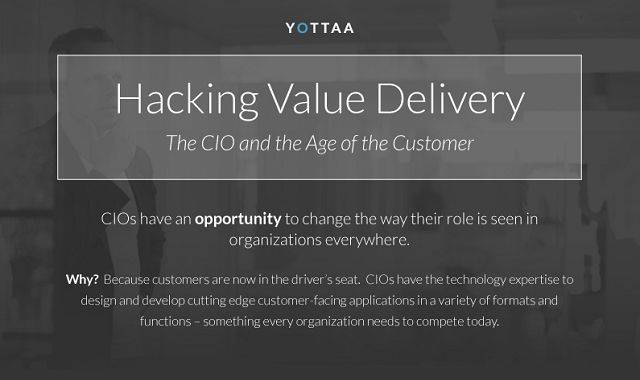 Hacking Value Delivery: CIOs and the Age of the Customer