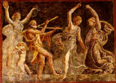 Baccanti menadi for Erotismo d epoca