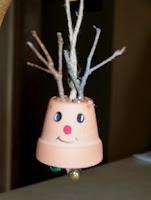 Rudolph the flowerpot