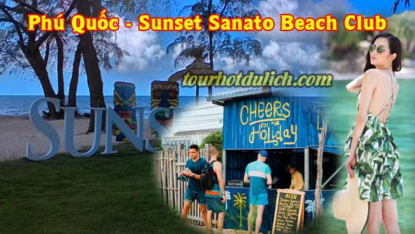 điểm vui chơi mới ở Phú Quốc Sunset Sanato Beach Club