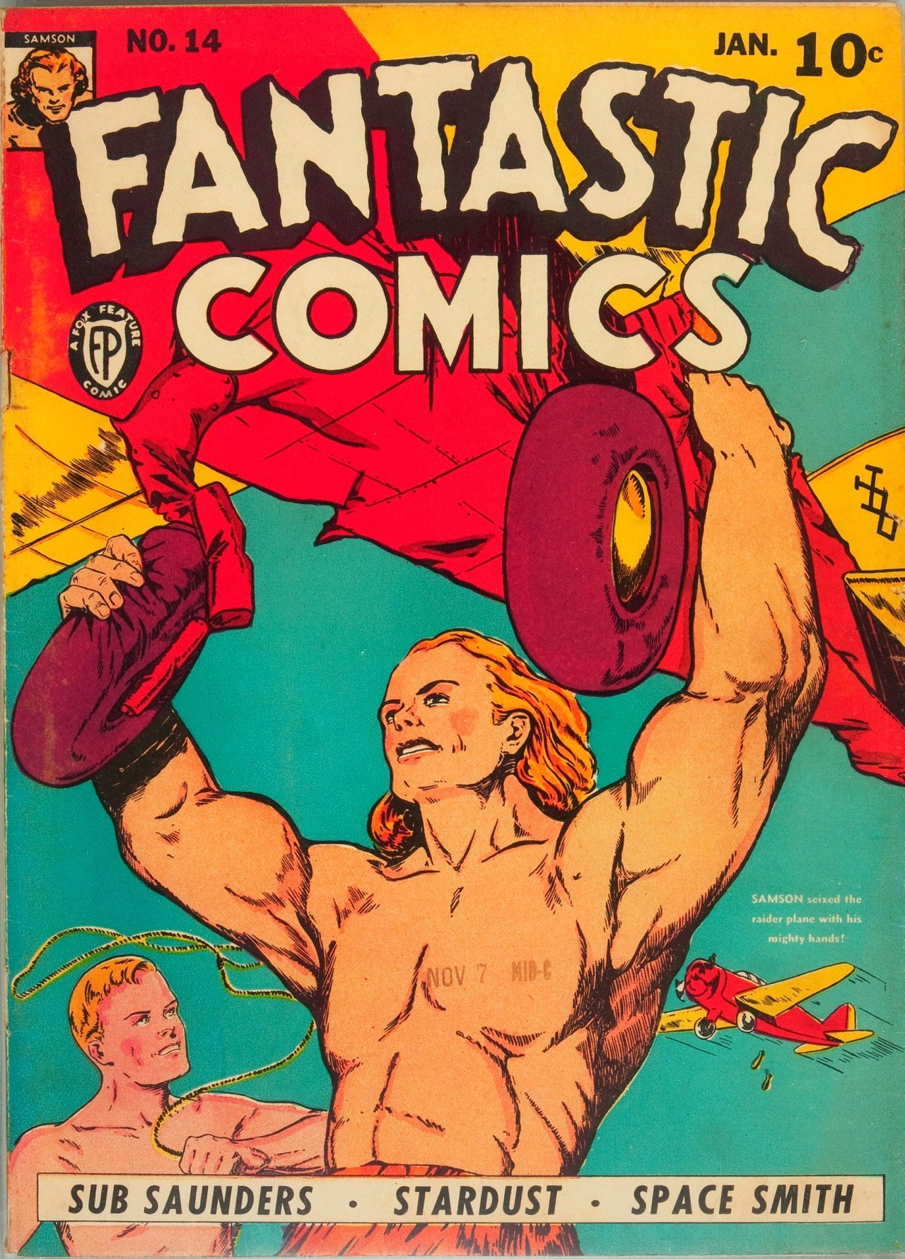 Fantastic Comics 14 Page 1