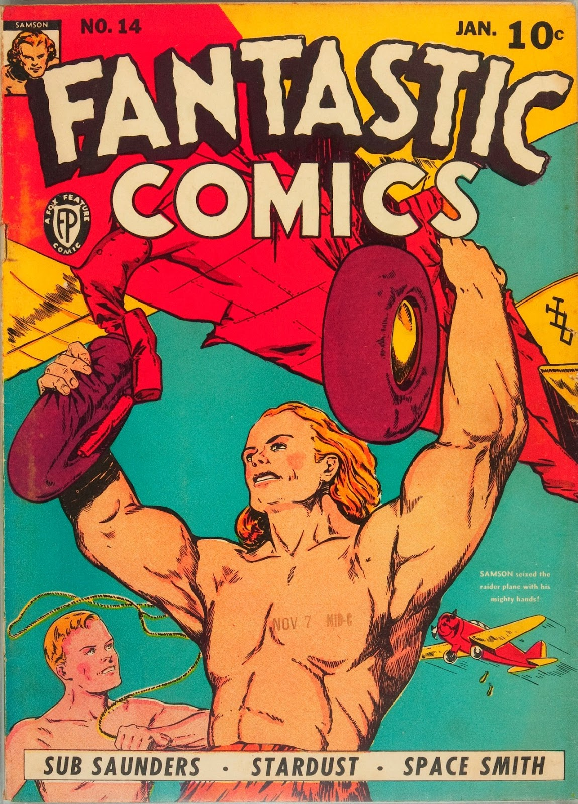 Read online Fantastic Comics comic -  Issue #14 - 1