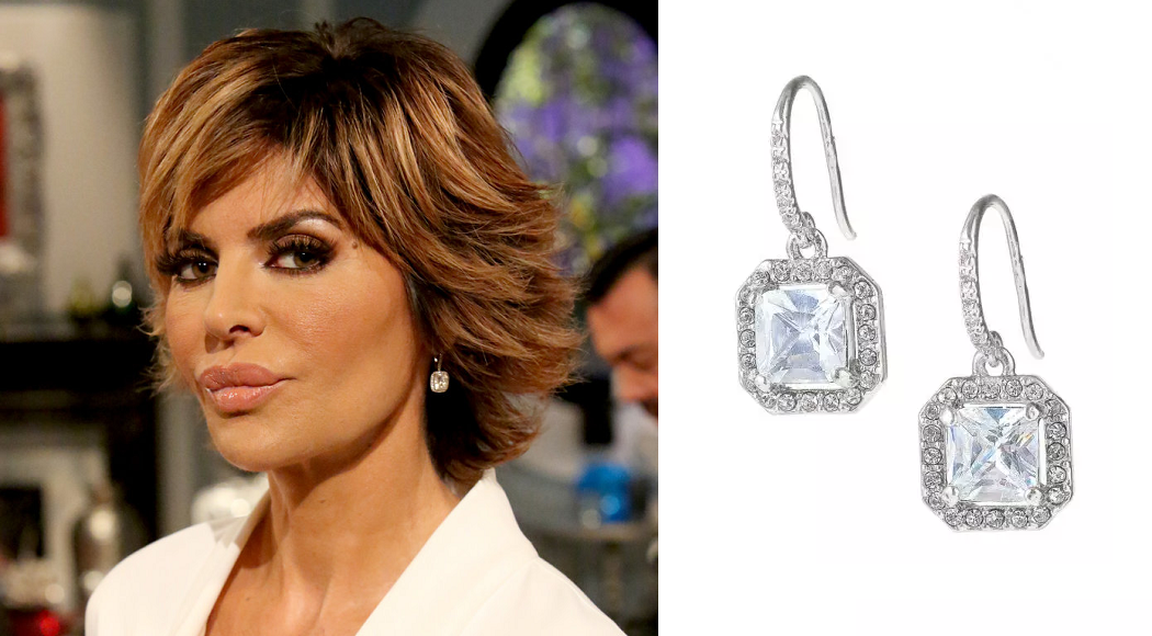 Get Lisa Rinna's Look with Stella & Dot's Deco Drop Earrings!