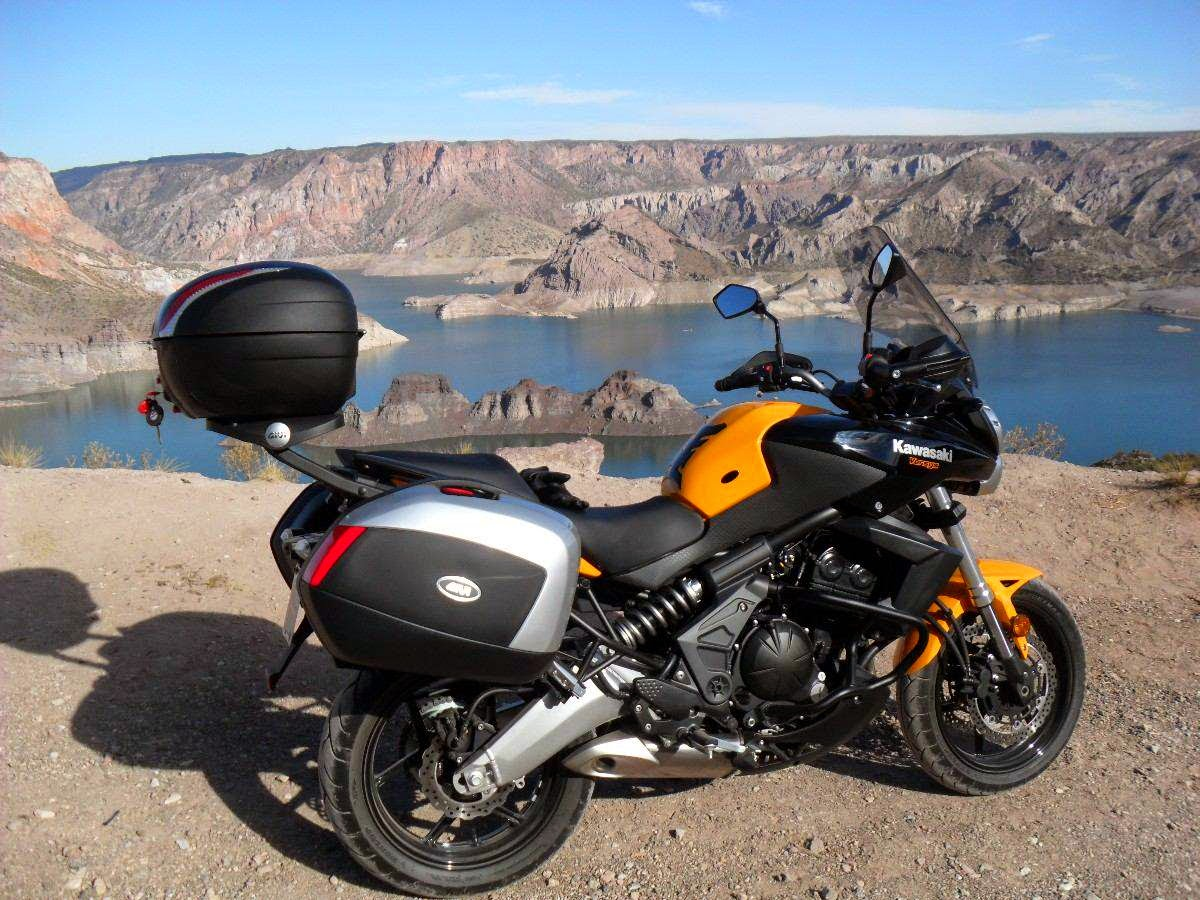 Yuk Simak Beberapa Gambar Modifikasi Kawasaki Versys Berikut