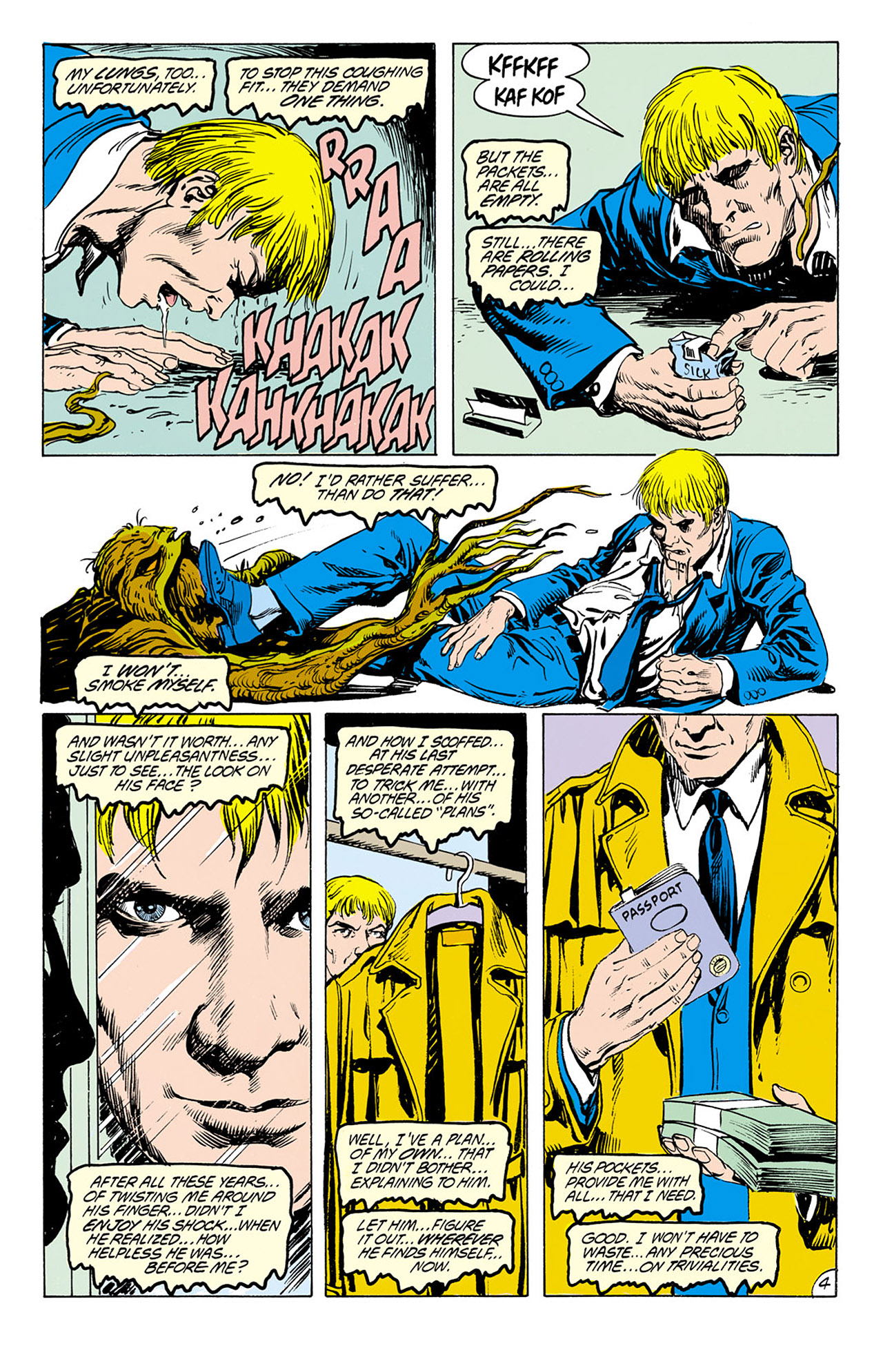 Swamp Thing (1982) Issue #76 #84 - English 4