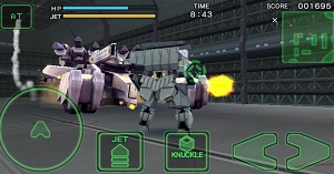 game perang robot offline di android