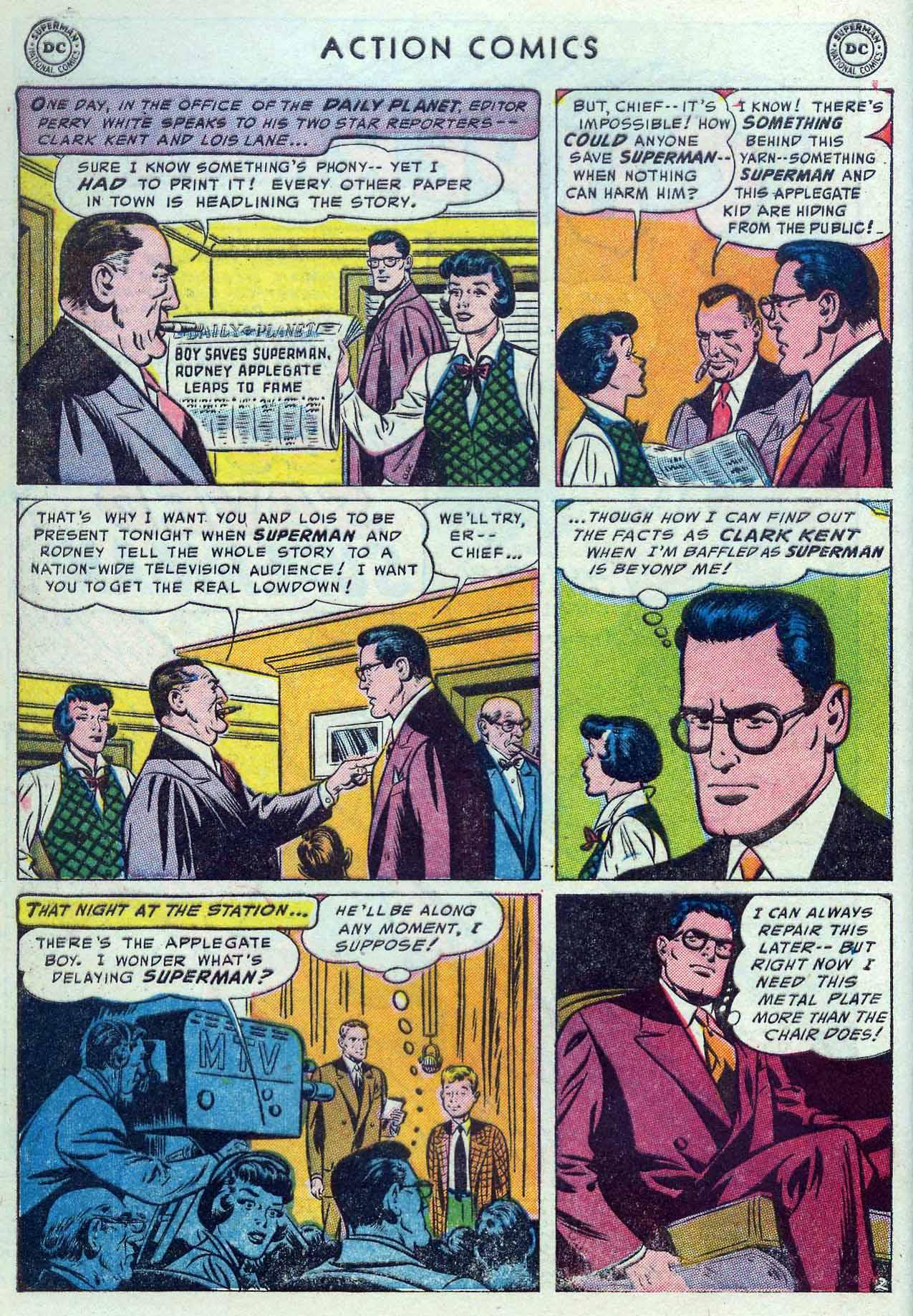 Action Comics (1938) 190 Page 3