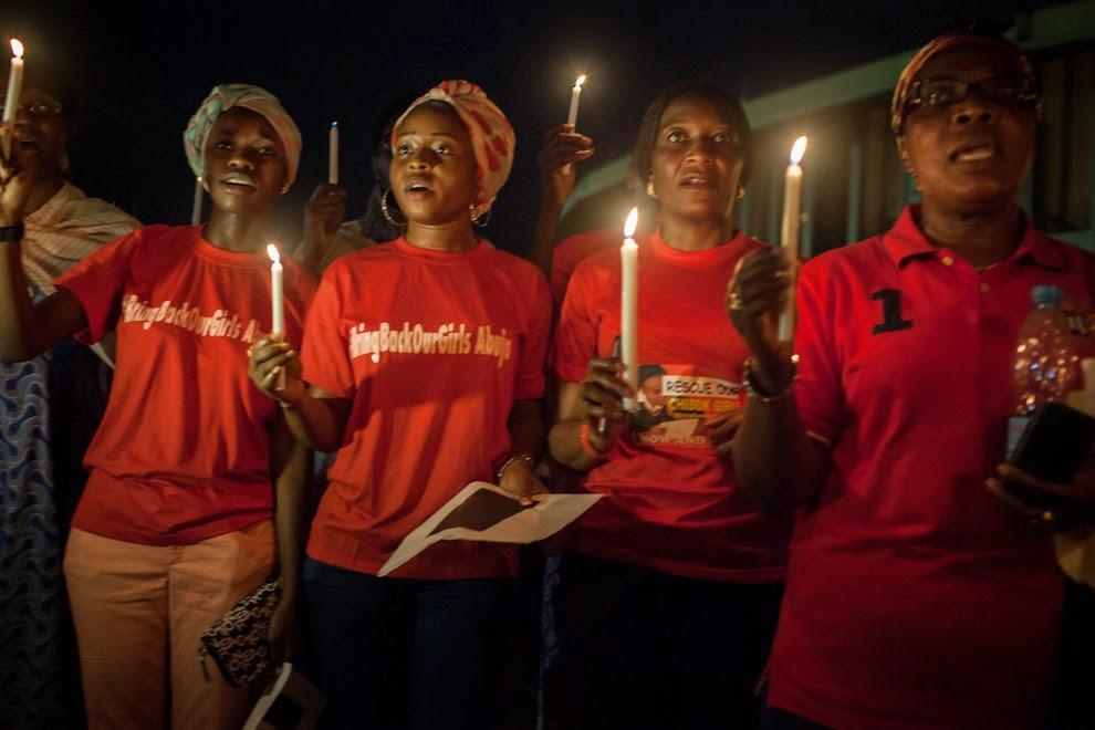 vigil chibok girls abuja
