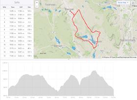Today I Ran My First Half Marathon - Strava overview -Darwen Heritage Half Marathon