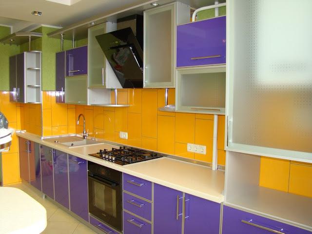 Кухни в пластик HPLе фото