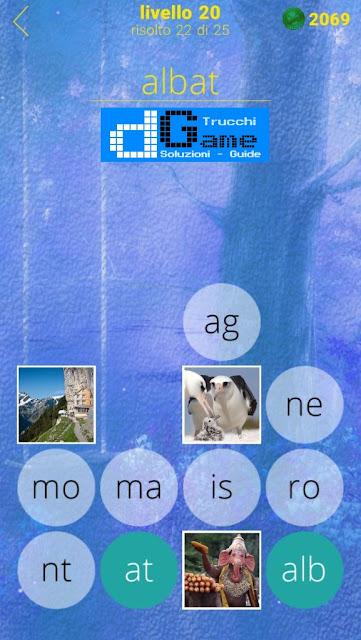 650 Foto soluzione pacchetto 20 livelli (1-25)