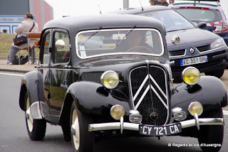 L'Embouteillage de Lapalisse 2016..Traction Citroën