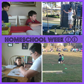 Homeschool Week 26