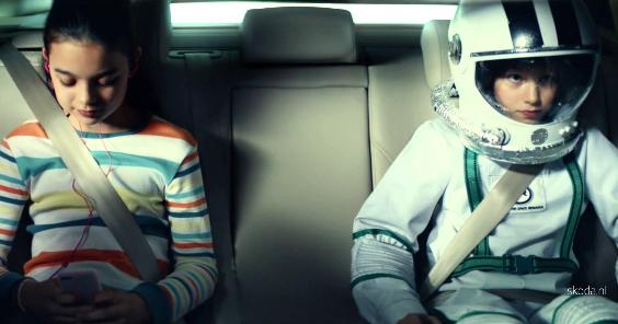 Say; Hello Spaceman: SKODA Superb Combi TV Commercial (2015)