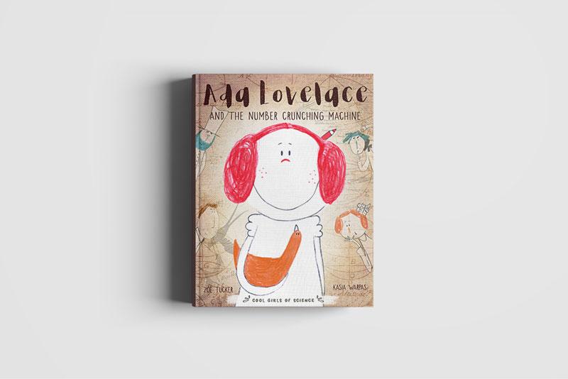 Okładka Ada Lovelace z Kurą