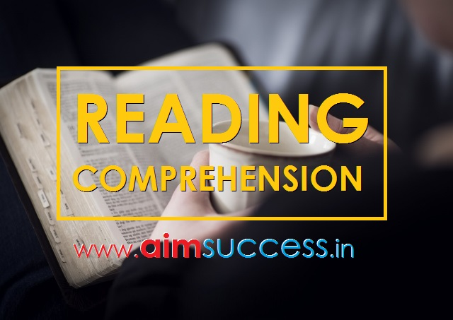 Reading Comprehension for IBPS PO/RRB Mains 2018: 01 Sep