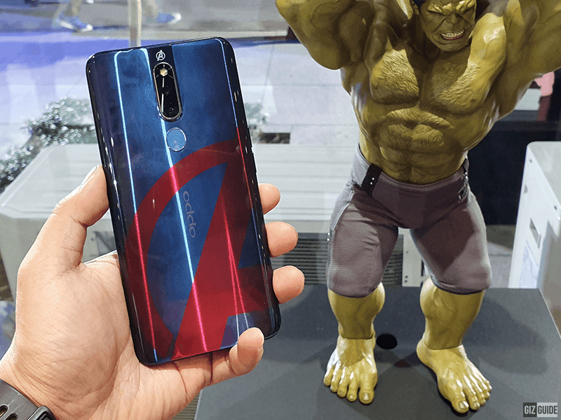 OPPO F11 Pro Avengers limited edition now official, priced at PHP 19,990