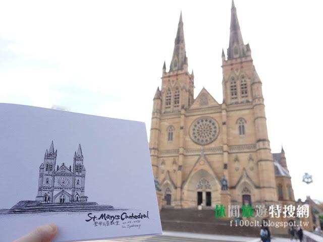 [澳洲/雪梨] 澳洲第二大教堂:St Mary's Cathedral聖瑪麗座堂&海德公園